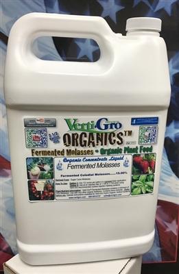 Organic fertilizer fermented molassess w trace minerals for Mineral soil vs organic soil